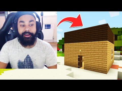 I FINALLY FOUND MY FIRST HOUSE | MINECRAFT