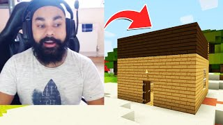 I FINALLY FOUND MY FIRST HOUSE | MINECRAFT