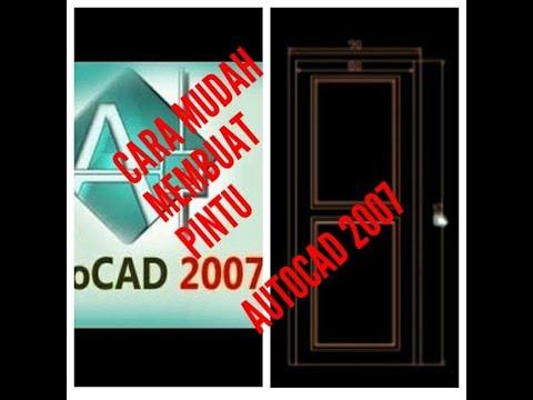 AutoCAD Tutorial - Cara Membuat Pintu menggunakan Dynamic Block.