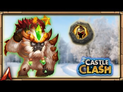 Building A MONSTER! 8/8 WarGod Sasquatch! Castle Clash