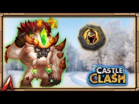 Building A MONSTER! 8/8 WarGod Sasquatch! Castle Clash