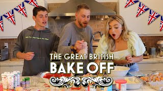 The Great British Bake Off (w/ Peyton List) | Gregg Sulkin and Cameron Fuller
