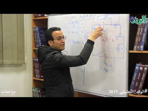 مراجعة شاملة على نصف منهج الفيزياء للصف الثالث الثانوي