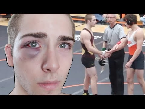 2019 Sectional High School Wrestling Tournament WIAA (minor setback)