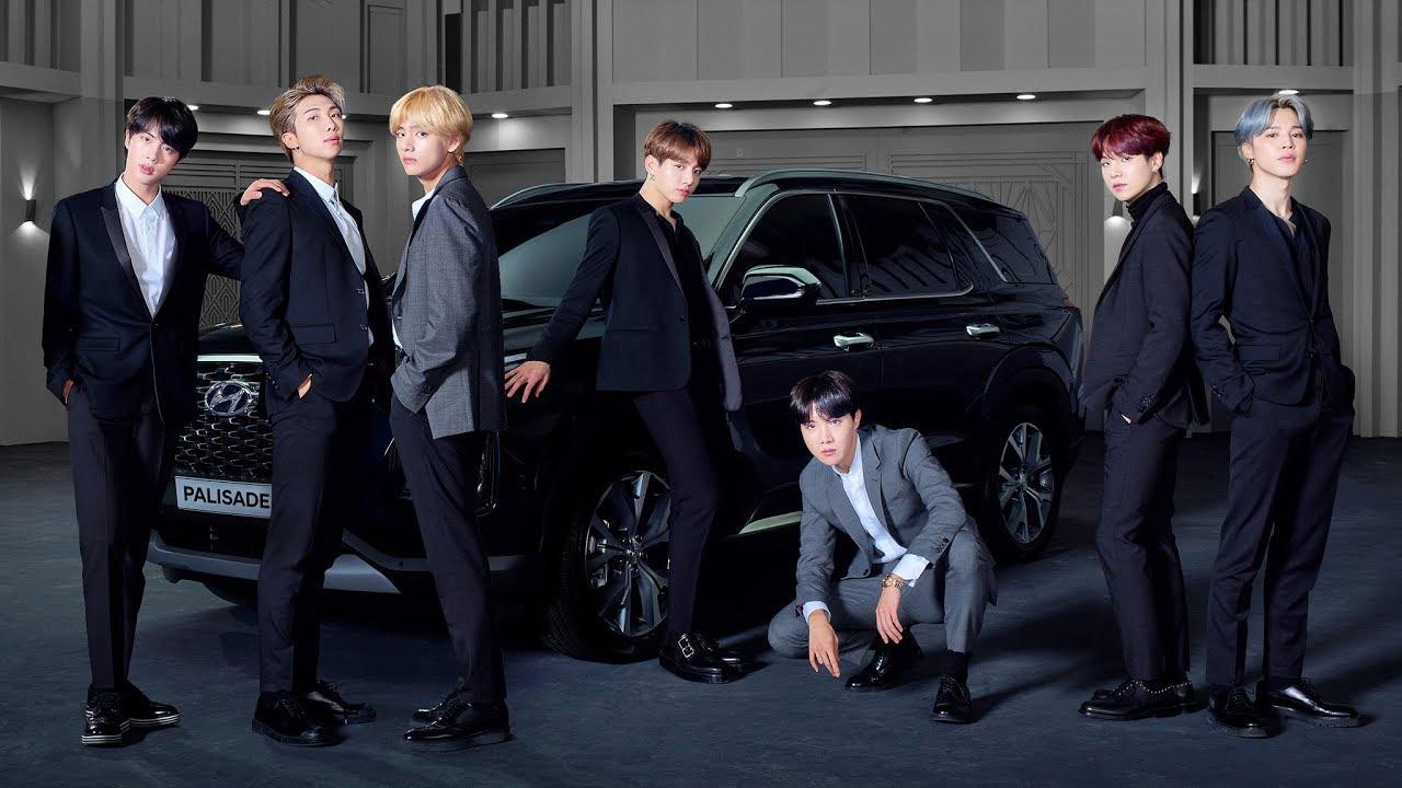 Hyundai unveils 2020 PALISADE with BTS @ LA Auto Show 2018 - YouTube