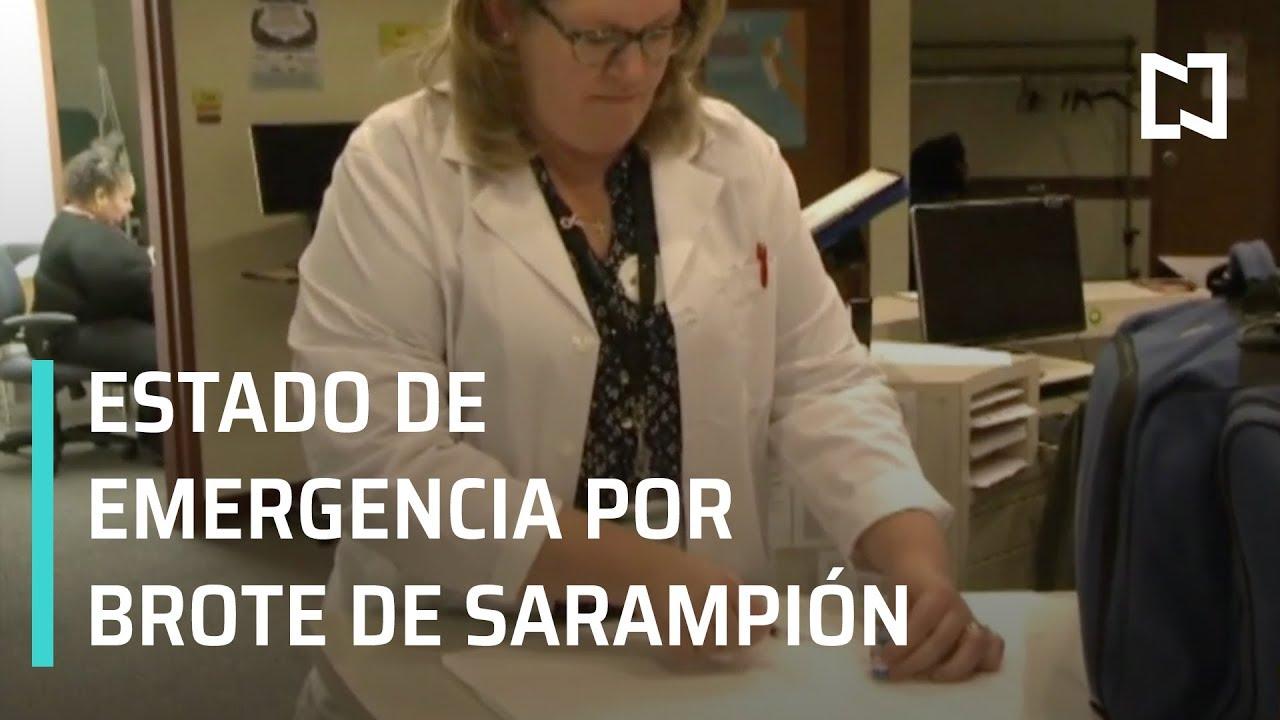 Brote de sarampión pone en alerta a autoridades de salud en EEUU - Las Noticias