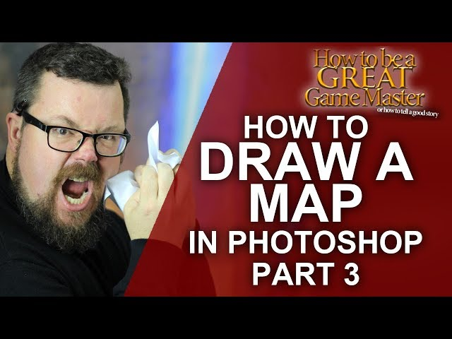 GREAT GM: How to draw a map for your rpg game part 3 - Great game master dungeon master tips