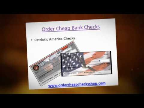 Order Checks Online Cheap