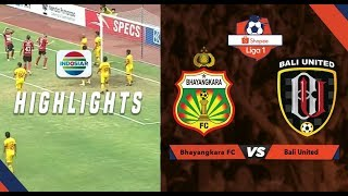 Bhayangkara FC  (0) vs Bali United (0) - Highlights Peluang | Shopee Liga 1