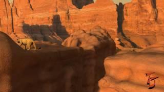 Puma jump animation