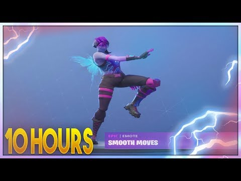 FORTNITE SMOOTH MOVES EMOTE WITH DREAM SKIN (10 HOUR)