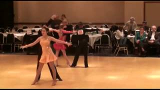 Indiana Challenge - Rumba - Youth Ballroom Dance Competition