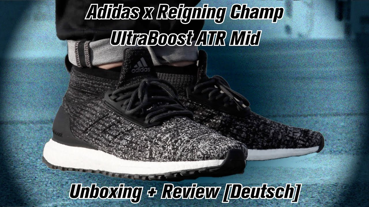 2ef03e490f398 Adidas x Reigning Champ ATR Mid UltraBoost Unboxing   Review   DEUTSCH
