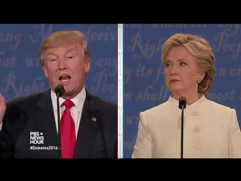 Trump addresses sexual assault allegations, videos claiming Democrats incited riots
