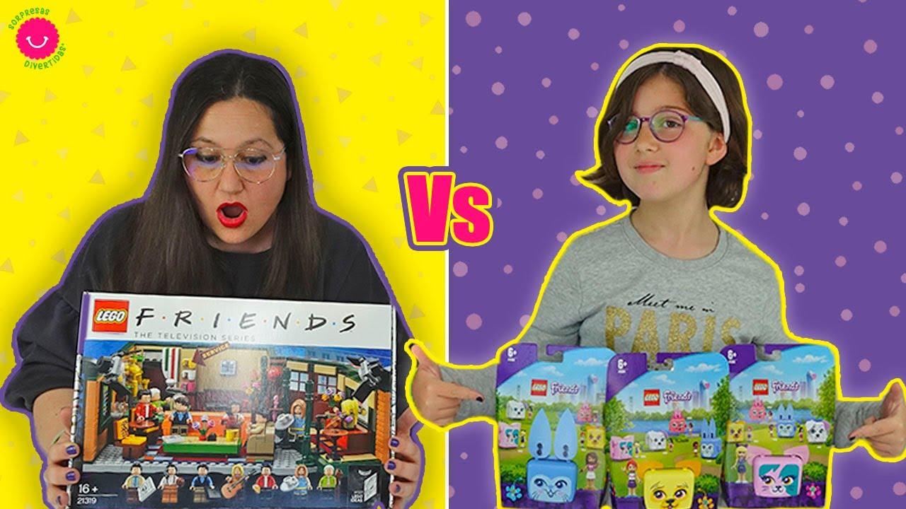 LEGO Friends Vs. Friends de LEGO ¿Cuál es mejor?