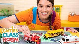 Caitie's Classroom Live  - People In Your Neighborhood! | Preschool Songs & Activities