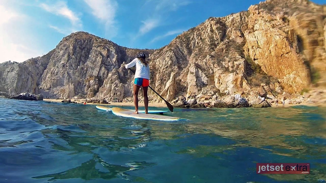 bahia hotel brings paddle boarding to cabo youtube. Black Bedroom Furniture Sets. Home Design Ideas
