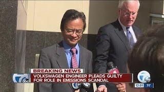 Volkswagen engineer pleads guilty in diesel engine emissions scandal