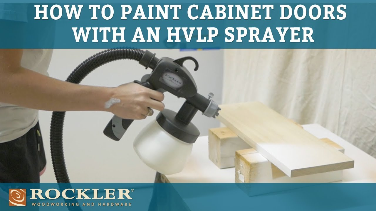 How To Paint Cabinet Doors Using An Hvlp Sprayer Rogue Engineer Project
