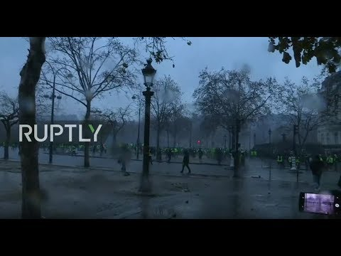 LIVE: Yellow Vest protest hits Paris - Part 2