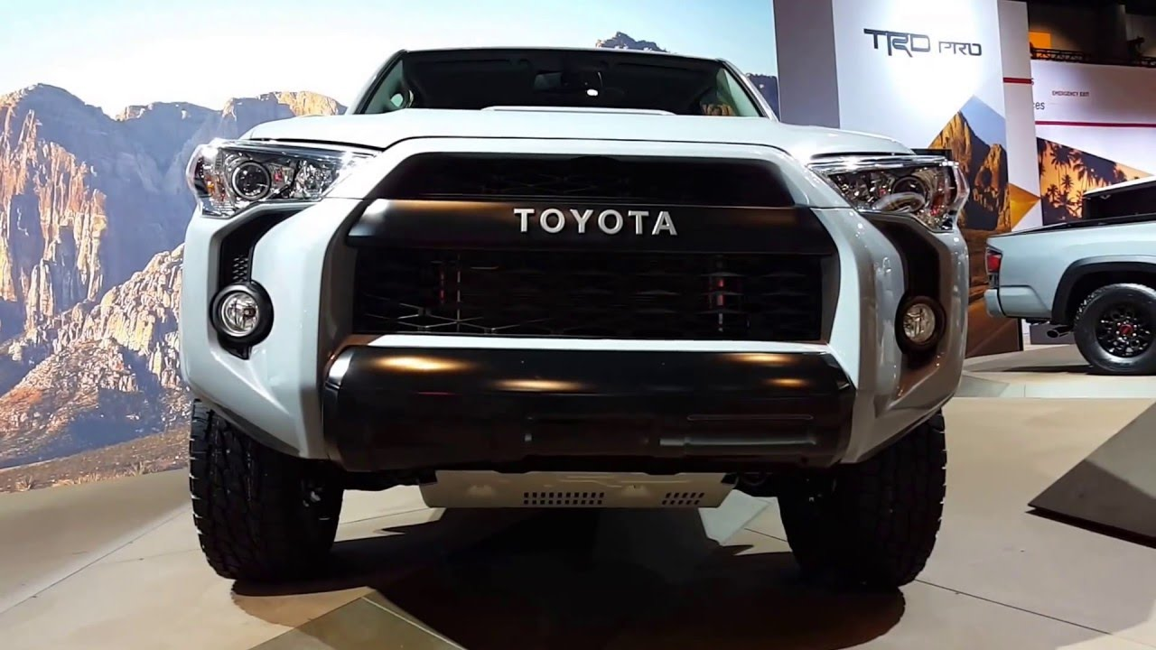 2017 Toyota 4runner Trd Pro Exterior Walkaround Price Site Cars You