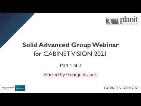 CV2021 Group Webinar - Solid Advanced - Part 1 of 2