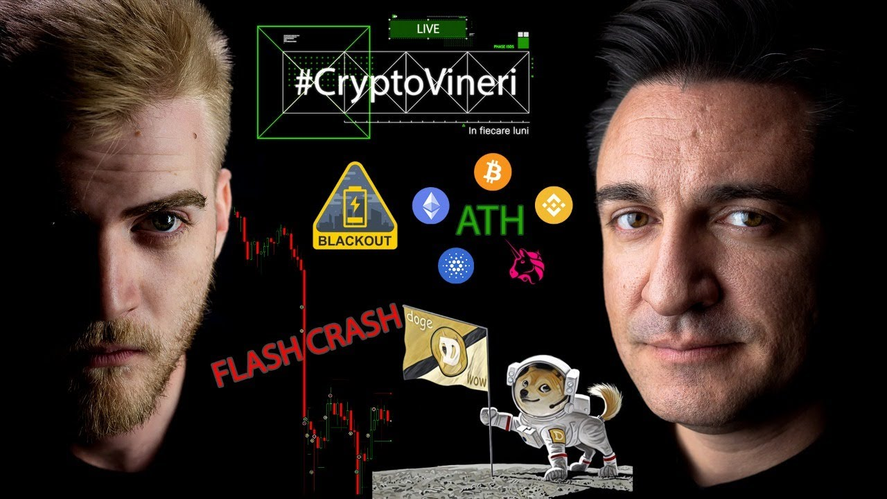 #CryptoVineri 17 - DOGE aterizează pe lună, FLASH CRASH, comunicat BNR, MAIARexchange și CryptoQuizz