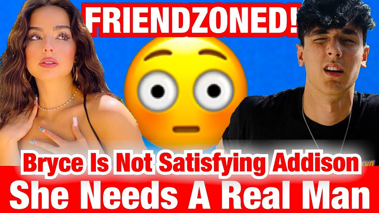 ADDISON RAE IS BACK! SPEAKS ON WHY SHE DISAPPEARED + FRIENDZONED BRYCE AGAIN 😱