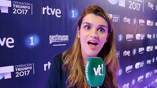 Así reacciona Amaia de OT al saber que Dani Martín y C.Tangana quieren cantar con ella