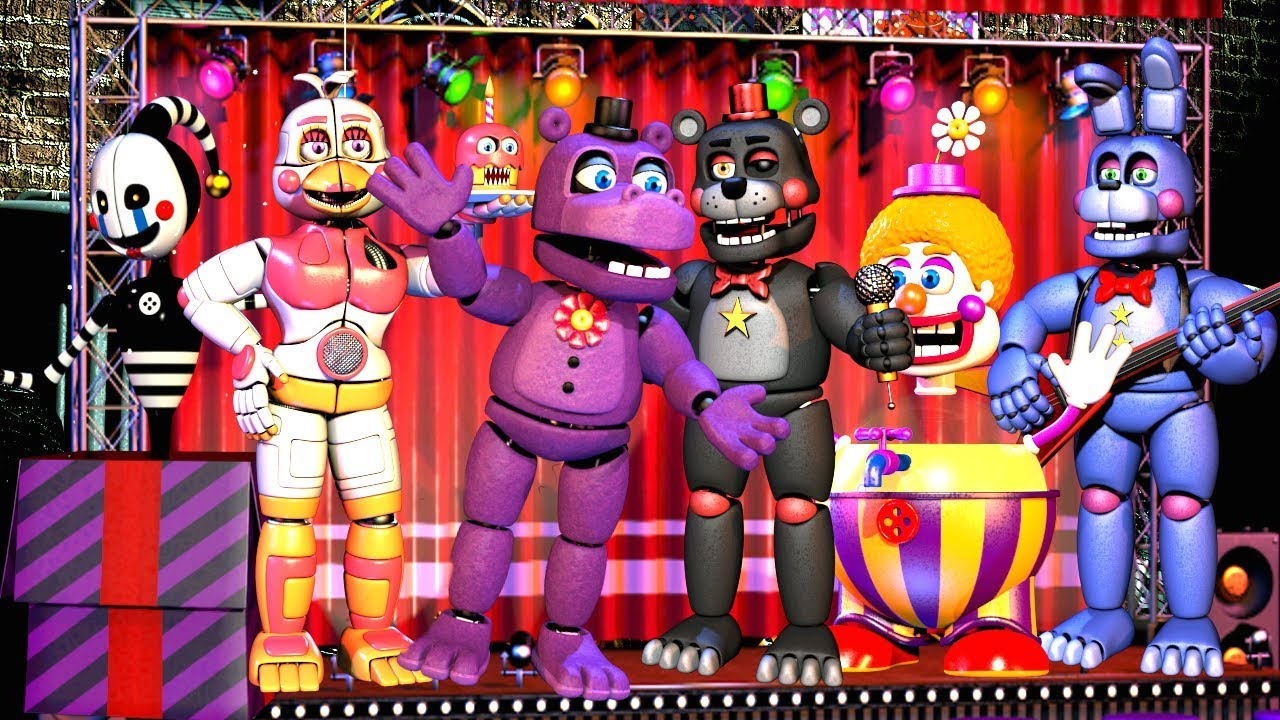 Five Nights at Freddy's 6 All Characters, All Animatronics & more! (FNAF 6)