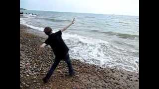 KingBathmat - Paperbag - (VIDEO) Hastings St Leonards on Sea - Slow Motion Slo mo
