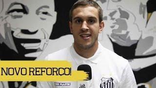 Bruno Uvini é o novo reforço do Santos!