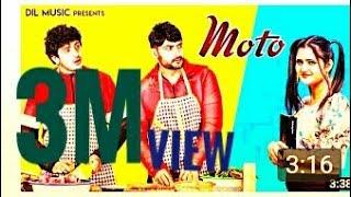 Moto (Official Video)|!MOTO JMD DJ|@NITISH KUMAR |!/ BALA SINGH|/#/ Latest Haryanvi Song (DJ) 2020