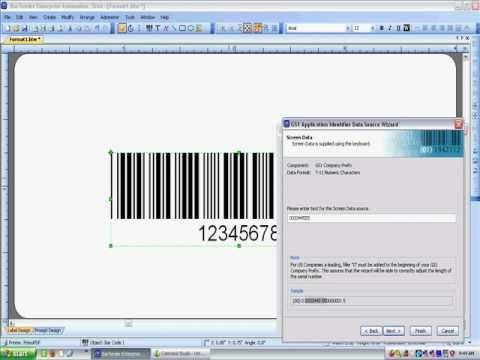 how to make a sscc barcode