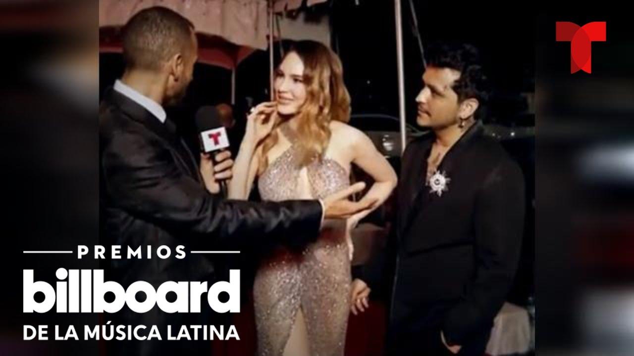 'La Alfombra del amor' de los Premios Billboard 2021   Telemundo Entretenimiento