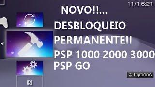 ATENÇÃO!!!... DESBLOQUEIO PERMANENTE (INFINITY) PARA PSP 1000,2000,3000 E GO.