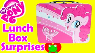 My Little Pony Lunch Box Surprises with Pinkie Pie, LPS, and Shopkins