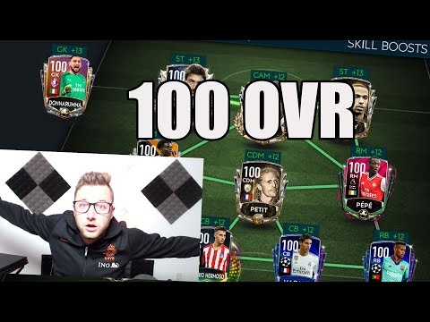 Epic Full 100 OVR Squad Builder on FIFA Mobile! The Best Teams in FIFA! Every Player 100 OVR!