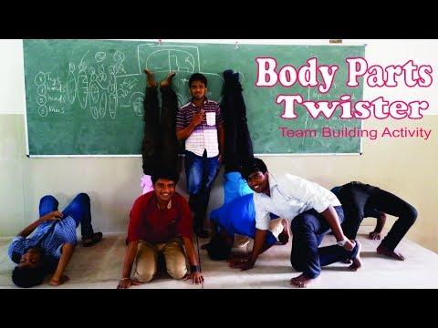 Body Twister - Team Building Activity - PMKVY Soft skill Project