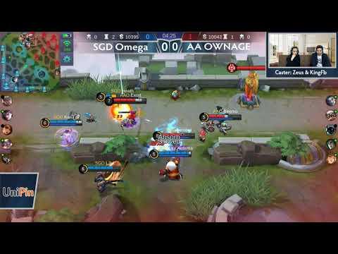 SGD Omega vs ArkAngel Ownage (BO3) Just ML League 3