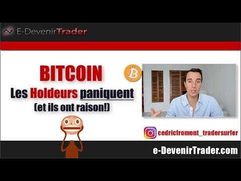 Bitcoin - Les holdeurs paniquent et ils ont raison