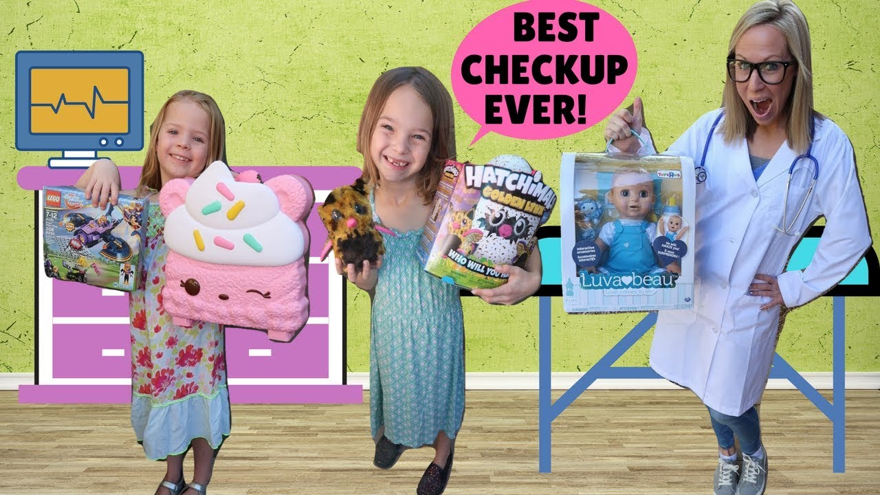 Download KIds Get Annual Check Ups from Toy Doctor !!!