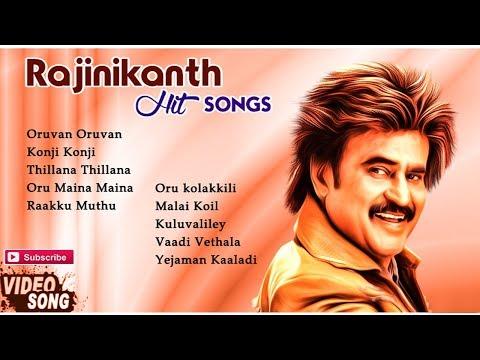 Rajinikanth Hit Songs | Video Jukebox | Best of Rajinikanth Songs Collection | Music Master