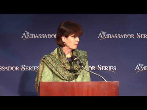 The Ambassador Series, w/  Amb. Renee Jones-Bos, The Netherlands
