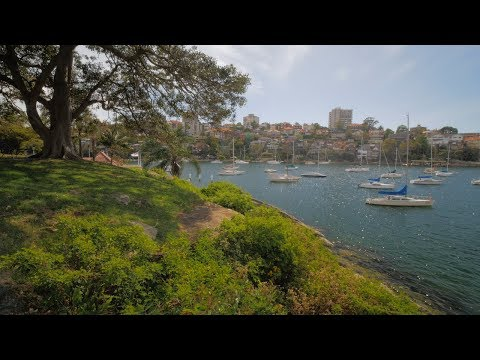 Sydney Video Walk 4K - Cremorne Point Spring 2017