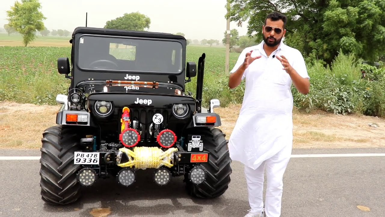 Modified 4x4 Hunter Jeep With Ac By Ankita Jeep S Phno