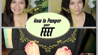 How to pamper your feet at home / callous free