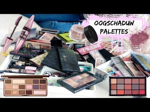 MAKEUP STASH UITZOEKEN & OPRUIMEN #3: Oogschaduw, Glitters, Mascara, Eyeliner | Sarah Rebecca