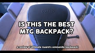 Ultimate Guard Ammonite Anti-Theft Backpack Review