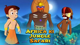 Chhota Bheem - Africa ki Jungle Safari | Fun Kids Videos | Cartoon for Kids in Hindi